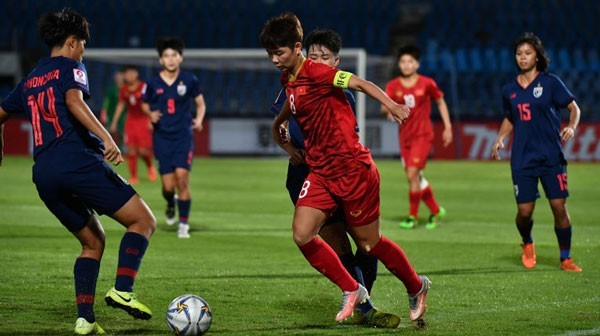 Asien-Frauenfußballmeisterschaft der U-19: Vietnam gewinnt gegen Thailand - ảnh 1
