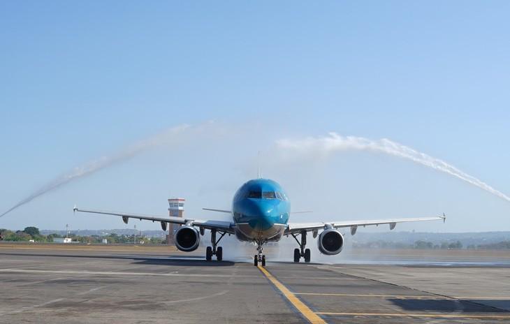 Vietnam Airlines eröffnet Direktflug zwischen Ho Chi Minh Stadt und Bali - ảnh 1