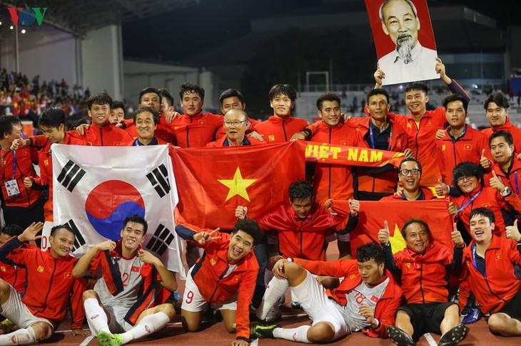 Medien über Finalsieg der vietnamesischen U22-Fußballmannschaft - ảnh 1