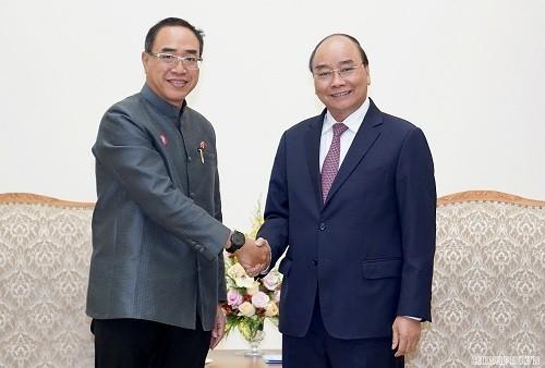 Premierminister Nguyen Xuan Phuc empfängt thailändischen Botschafter - ảnh 1