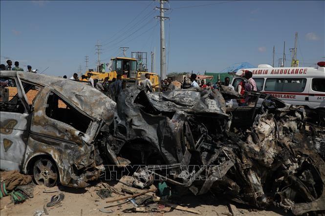 Weltgemeinschaft verurteilt Bombenanschlag in Somalia - ảnh 1