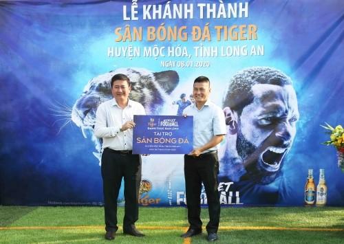 Tiger-Bier engagiert sich für Amateur-Fußball in Vietnam - ảnh 1