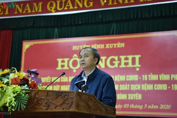 Unmittelbar vor Aufhebung der Wachen um Gemeinde Son Loi - ảnh 1