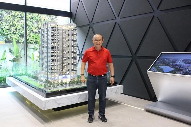 Fußballtrainer Park Hang-seo kauft Wohnung in Hanoi - ảnh 1