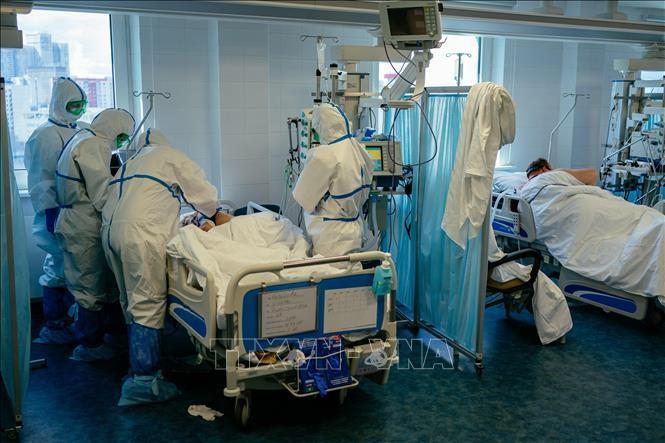 Vietnamesen unterstützen Mediziner bei Bekämpfung der COVID-19-Pandemie in Russland - ảnh 1