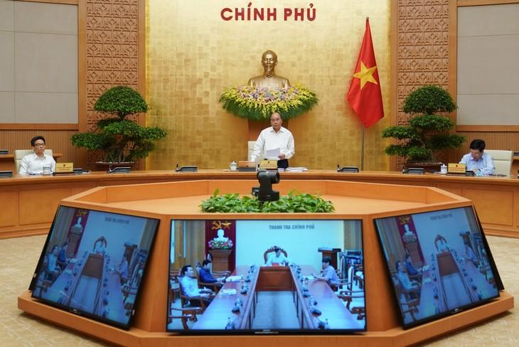 Premierminister Nguyen Xuan Phuc: Maßnahmen zur Förderung des Wirtschaftswachstums - ảnh 1