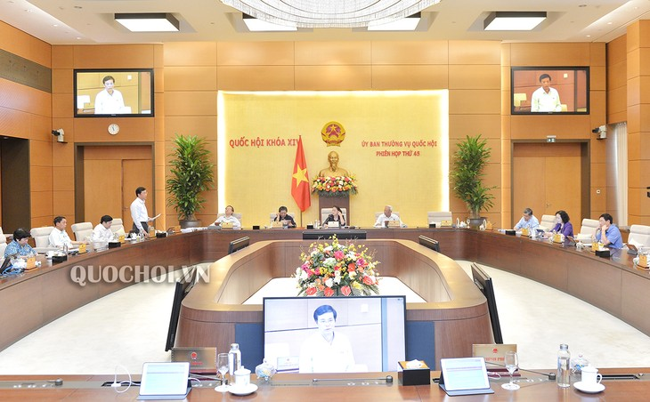 Ständiger Parlamentsausschuss diskutiert Minderung der Personaleinkommensteuer wegen Schwierigkeiten - ảnh 1