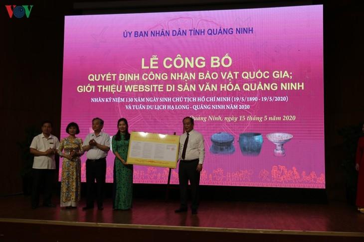 Quang Ninh erhält drei Schätze der Nation - ảnh 1