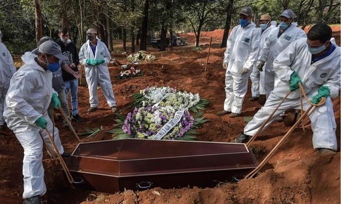 COVID-19-Pandemie: Fast 5,5 Million Infizierte auf der Welt - ảnh 1