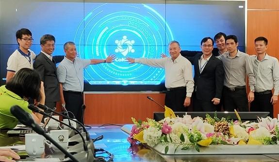 Vorzug der Technologie-Anwendung von Vietnam für Online-Konferenz - ảnh 1