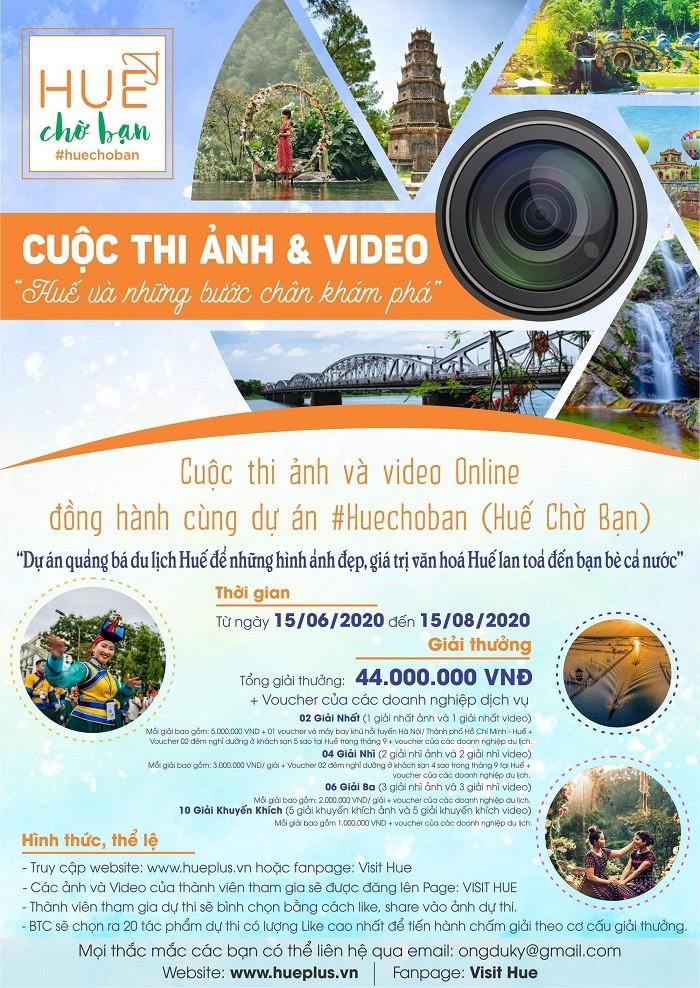 Fotos und Video-Wettbewerb zur Entdeckung Hue`s - ảnh 1