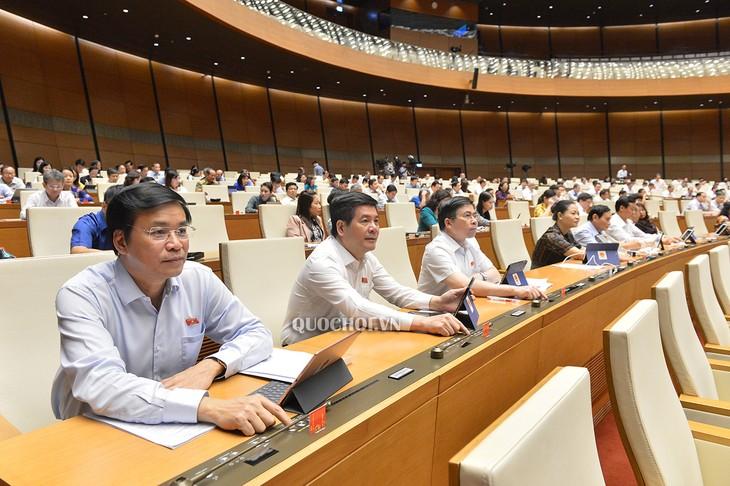 Sitzung des Parlaments: Eindruck der Diskussion - ảnh 1