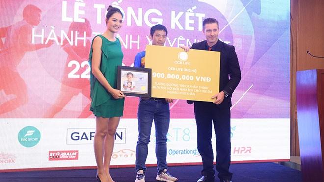 SEA Games-Preisträger der Silbermedaille spendet rund 40.000 Euro für Kinder aus schwierigen Verhältnissen - ảnh 1