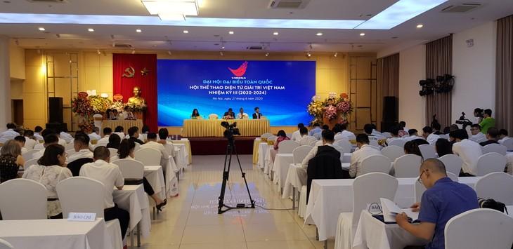 Elektronischer Sport und Unterhaltung Vietnams wollen internationalen Standard erfüllen - ảnh 1
