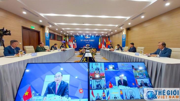 ASEAN 2020: ASEAN-Erklärung über Entwicklung der Arbeitskräfte für die Welt verändert sich positiv - ảnh 1