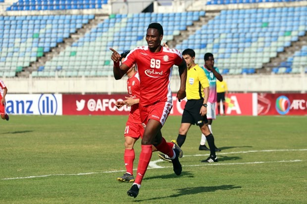 FC-Ho Chi Minh Stadt nimmt Abschied von Stürmer Amido Balde  - ảnh 1