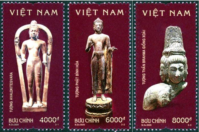 """Ausgabe der Briefmarken über """"Kultur Oc Eo"""" - ảnh 1"""