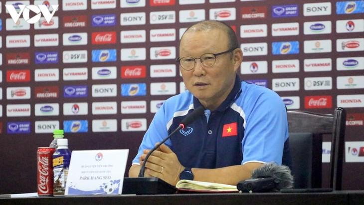 Trainer Park Hang Seo bevorzugt WM-Vorrunde - ảnh 1