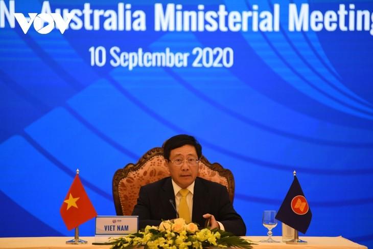 ASEAN hat bei AMM-53 klare Auffassung über Probleme im Ostmeer gezeigt - ảnh 1