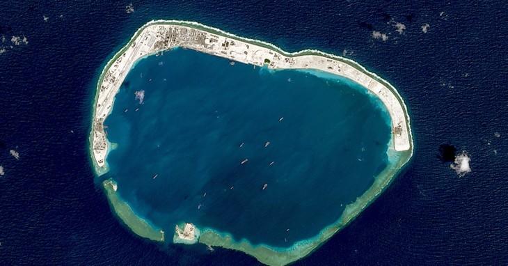 Frankreich, Deutschland und Großbritannien weisen Forderungen Chinas im Ostmeer zurück - ảnh 1
