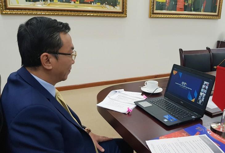 VFF diskutiert über Fußball-Liga 2021 in Vietnam - ảnh 1