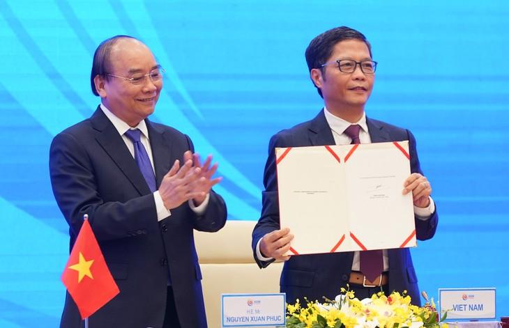 ASEAN 2020: Unterzeichnung des Wirtschaftspartnerschaftsabkommens in der Region (RCEP)  - ảnh 1