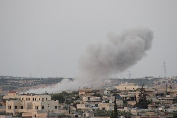 Mindestens 17 Tote bei Angriff der US-Luftwaffe in Ost-Syrien - ảnh 1
