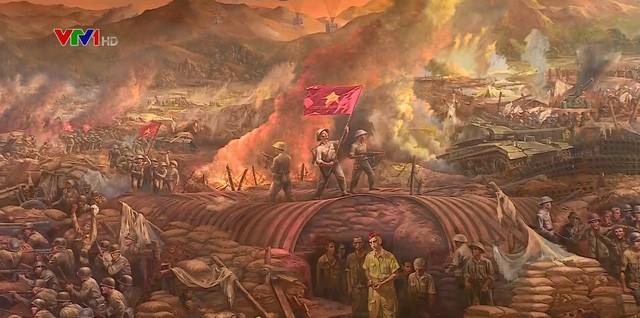 Eindruck von Wandbildern über den Sieg in Dien Bien Phu - ảnh 1