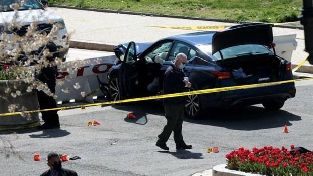 Die USA reagieren nach Autounfall am Parlamentsgebäude - ảnh 1