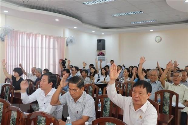 Konferenz der Wählermeinungen über Kandidaten - ảnh 1