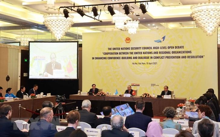 Zusammenarbeit zum Aufbau des Friedens der Stabilität und des Wohlstands - ảnh 1