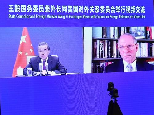 USA haben Weg zur Anpassung zu China noch nicht gefunden - ảnh 1