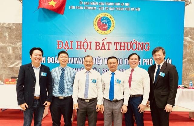 Bach Ngoc Chien ist Vorsitzender des Vovinam-Verbands Hanoi - ảnh 1