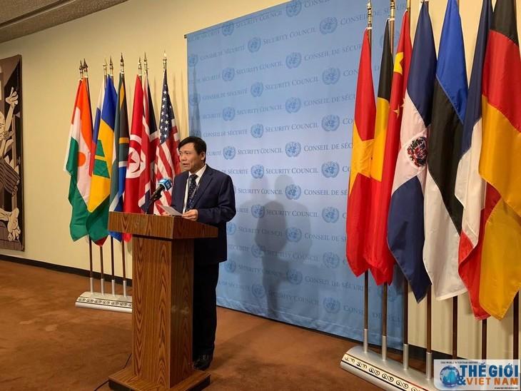 Vietnam hat Rolle als Vorsitz des Weltsicherheitsrates ausgezeichnet erfüllt - ảnh 1