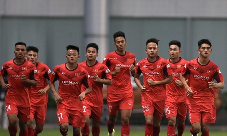 Die vietnamesische U23-Fußballmannschaft gehört zum Top 1 bei der Qualifikation für die Finalrunde in Usbekistan. - ảnh 1