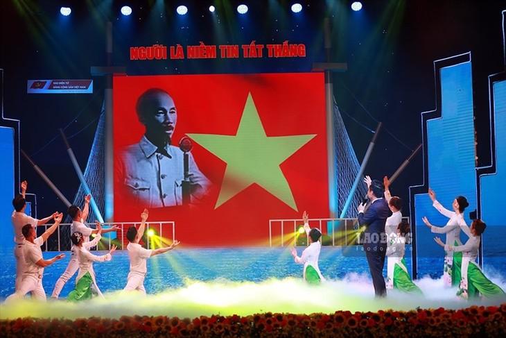 Gala zum 110. Jahrestag, in dem Präsident Ho Chi Minh Vietnam verließ  - ảnh 1