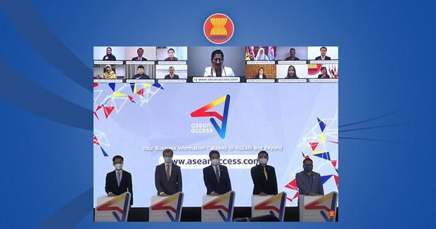 Eröffnung des Informationsportals für ASEAN-Unternehmen - ảnh 1