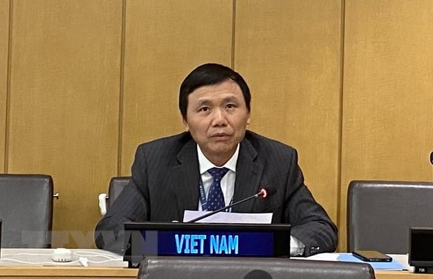 Vietnam betont den Standpunkt auf Konferenz der UNCLOS 1982-Mitgliedsländer - ảnh 1