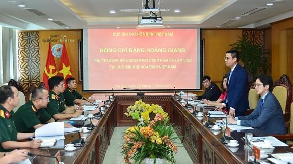 Vietnams Friedensmission ist ein Zeichen der Integration in der Verteidigung - ảnh 1