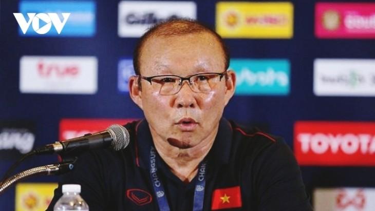 Park Hang-seo trainiert weiterhin die vietnamesische Fußballnationalmannschaft - ảnh 1
