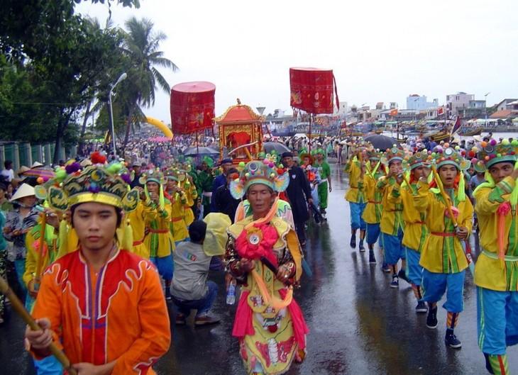 """Erhaltung des Festivals """"Cau Ngu"""" in Phan Thiet - ảnh 1"""