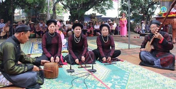 Erhaltung des immateriellen Kulturerbes von Ca Tru-Gesang in Thai Binh - ảnh 1