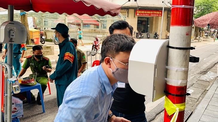 """Vietnamesische Wissenschaftler bauen """"Kluge Augen"""" zur Vorbeugung von COVID-19 - ảnh 1"""