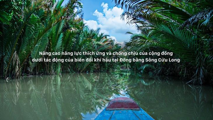 Junge Arbeitskräfte für Projekte mit Klimawandel in vietnamesischen Mekong-Delta  - ảnh 1