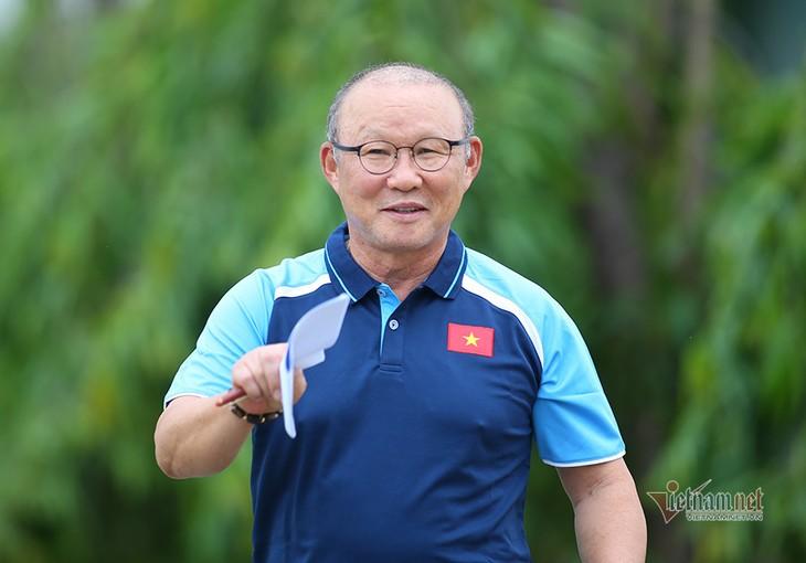 Verhandlung über Verlängerung um ein Jahr mit Trainer Park Hang Seo - ảnh 1