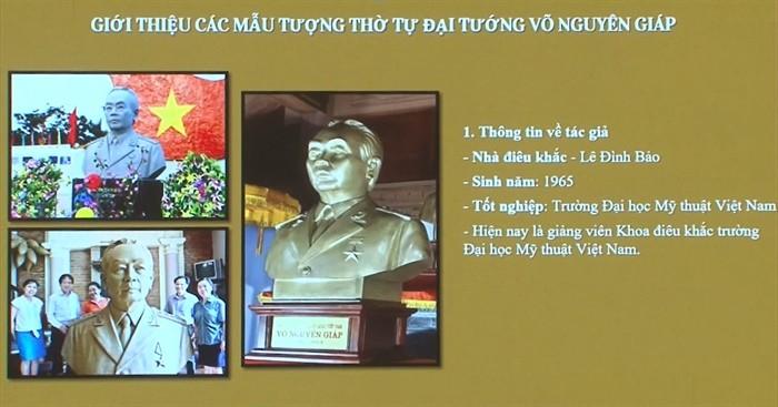 Dien Bien: Statue von General Giap in Muong Phang - ảnh 1