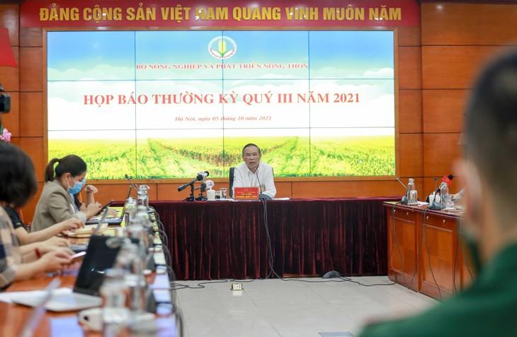 Starker Export von Produkten der Land- Forstwirtschaft und der Meereswirtschaft - ảnh 1