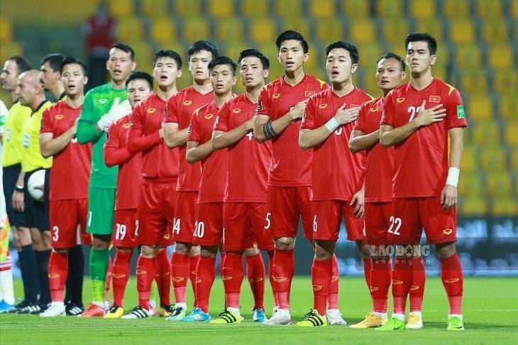 Die vietnamesische Fußballnationalmannschaft rutscht in der Weltrangliste ab - ảnh 1