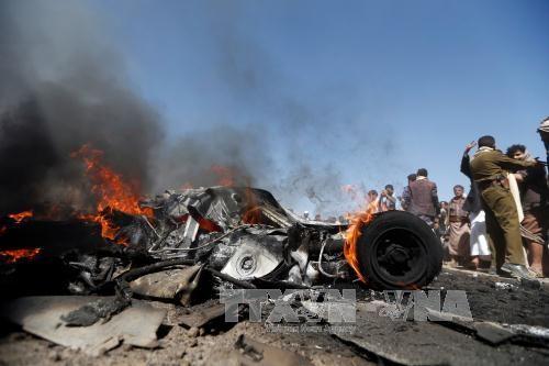 ພວກກະບົດ Houthi ປະກາດຍິງເຮືອບິນຂອງທະຫານປະສົມ ອາຣັບ ຕົກ - ảnh 1