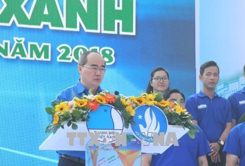 자원봉사활동,  Ho Chi Minh시 경제 사회 개발에 기여 - ảnh 1